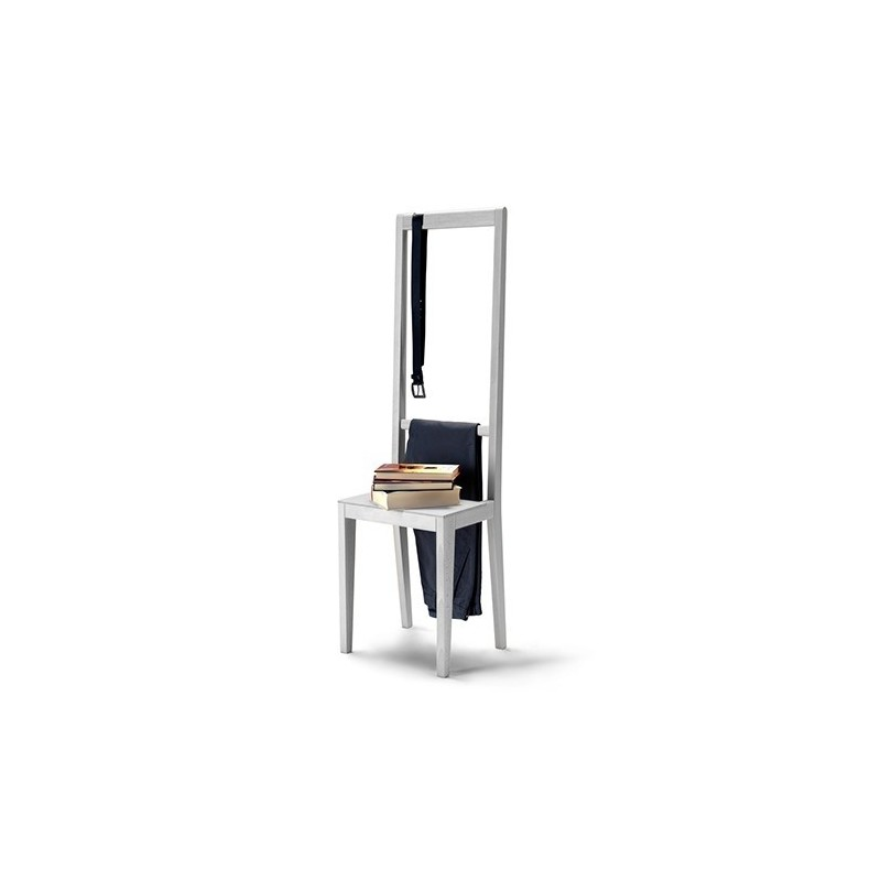 Covo Alfred White Beech Chair - White