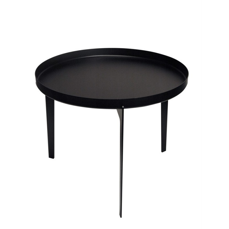 Covo Small Illusion Coffee Table - Black Steel