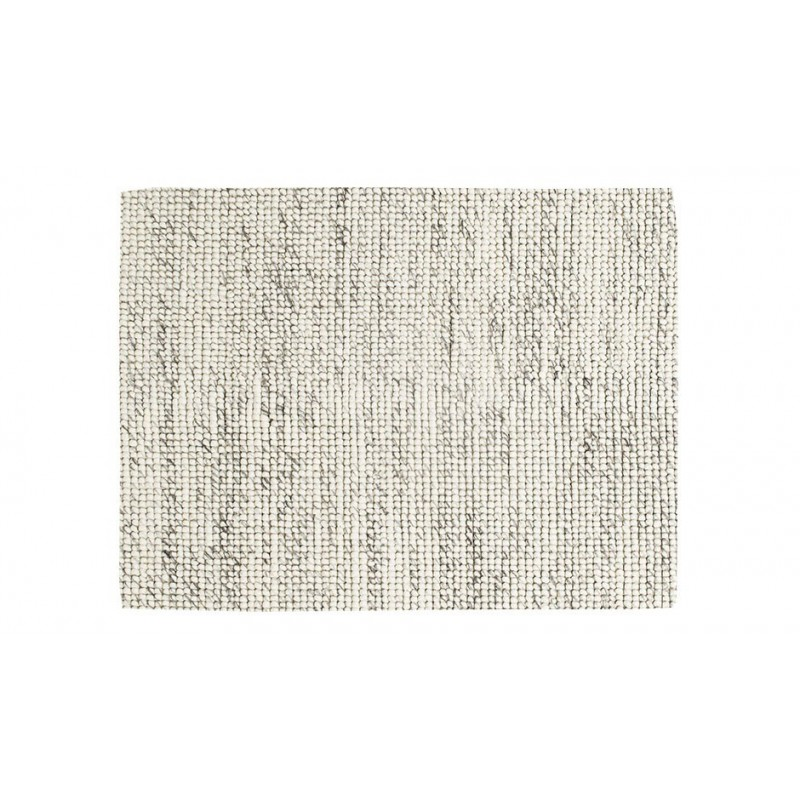 Massimo Handwoven Bubbles Cream Wool Rug | 3 Sizes