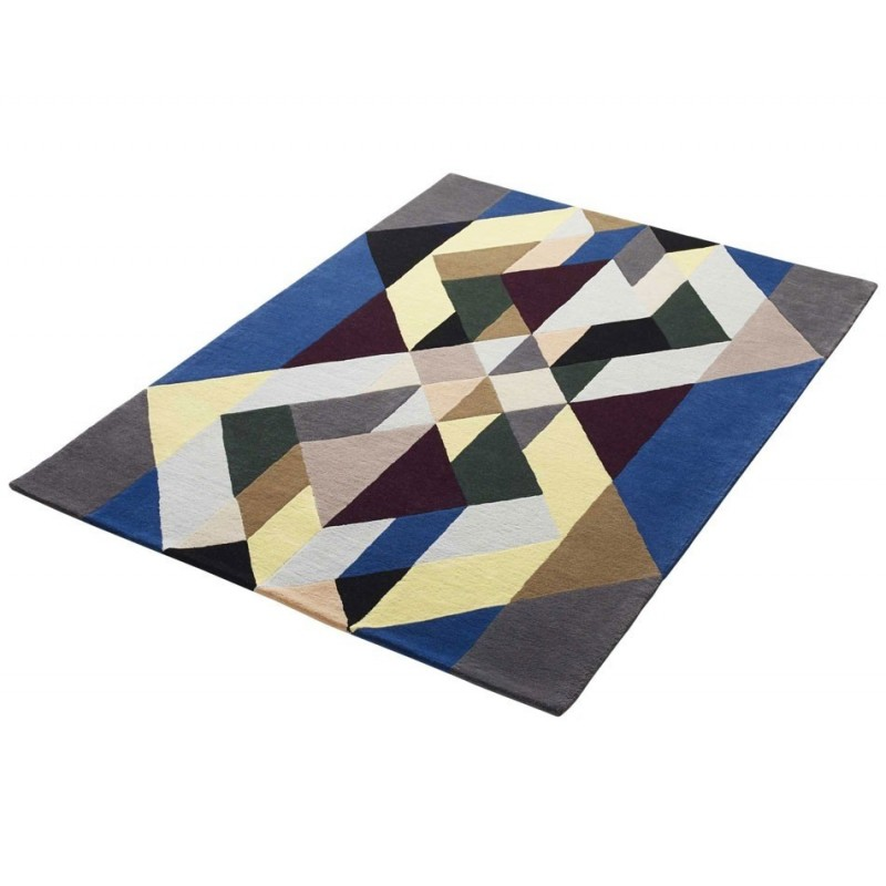 Massimo Art Deco Lopez Ivan Wool Rug (3 Sizes)