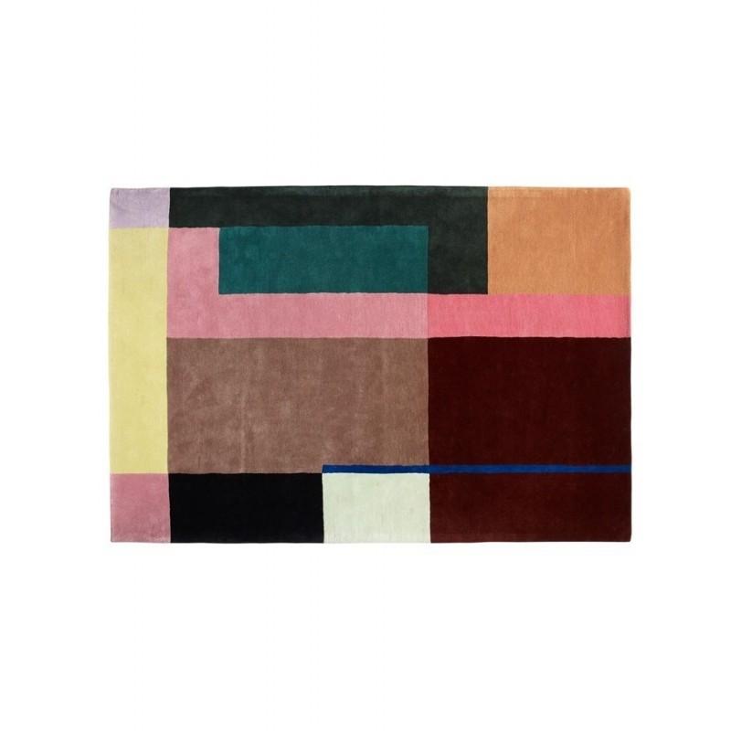 Massimo Lopez Selma Art Deco Wool Rug - 3 Sizes