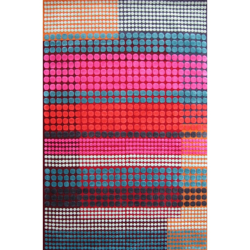 Deva Silk and Wool Rug by Margo Selby   Designer Rugs UK