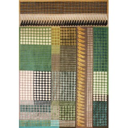 Heather Silk and Wool Rug by Margo Selby   Designer Rugs UK