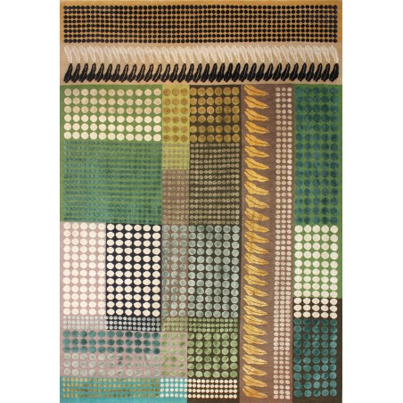 Heather Silk and Wool Rug by Margo Selby | Designer Rugs UK