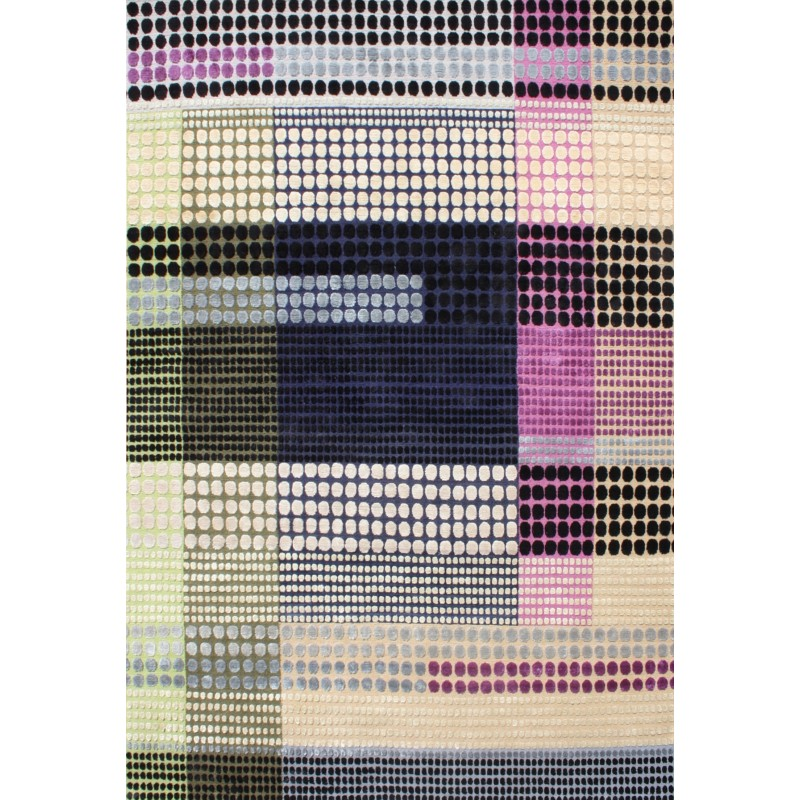 Sorbet Silk and Wool Rug by Margo Selby | Designer Rugs UK