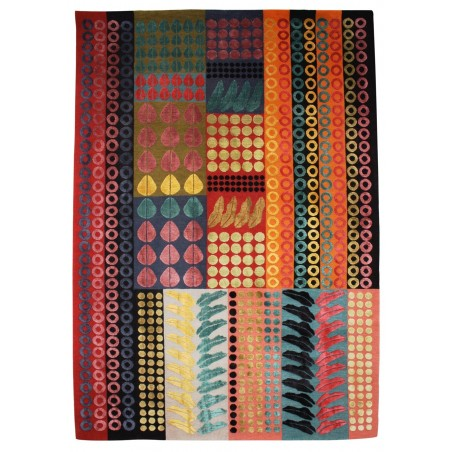 Cairo Silk and Wool Rug by Margo Selby   Designer Rugs UK
