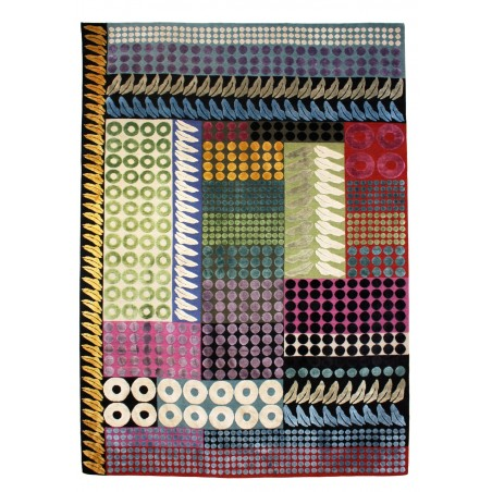 Jewel Silk and Wool Rug by Margo Selby   Designer Rugs UK