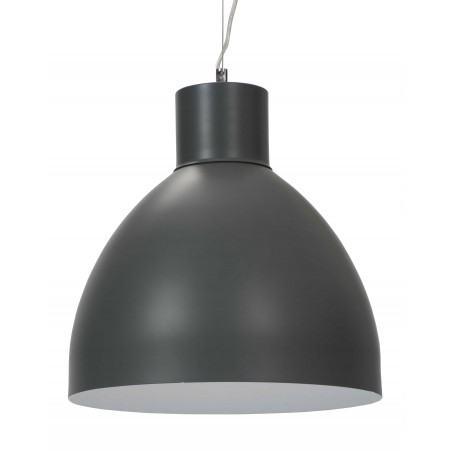 Large Contrast Hanging Lamp | Blue Grey Stone or White
