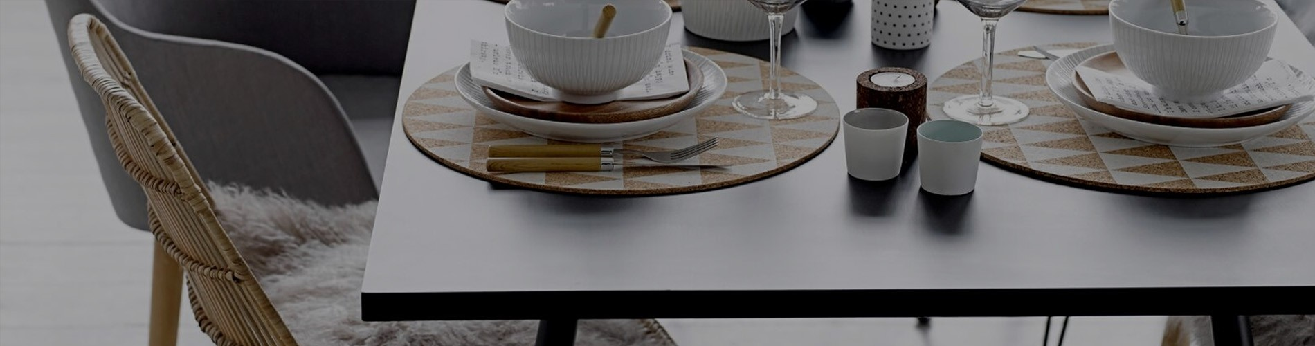 Designer serve ware for the modern contemporary home.