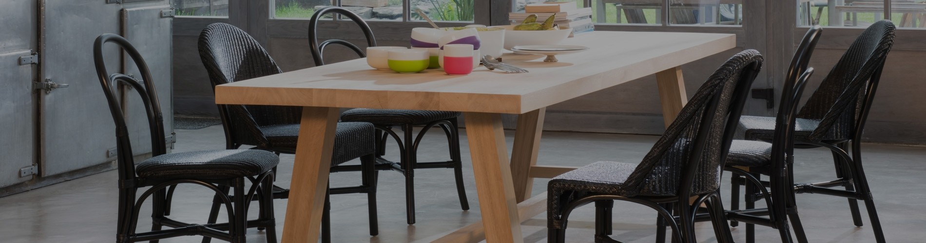 Designer dining tables and chairs from top brands