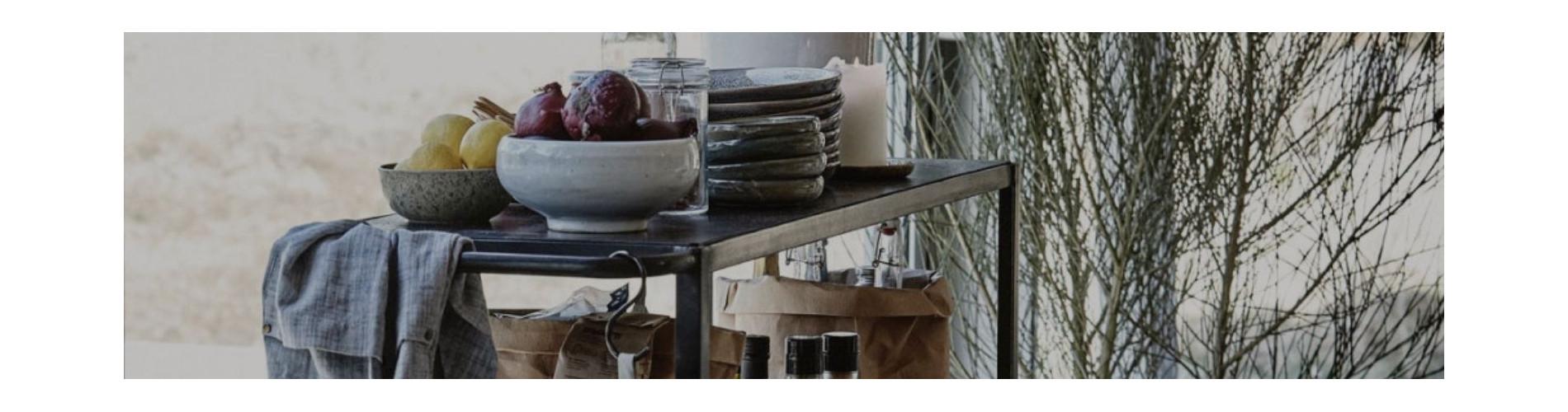 Kitchen Shelves & Serving Trolleys | Storage Shelf Trolley