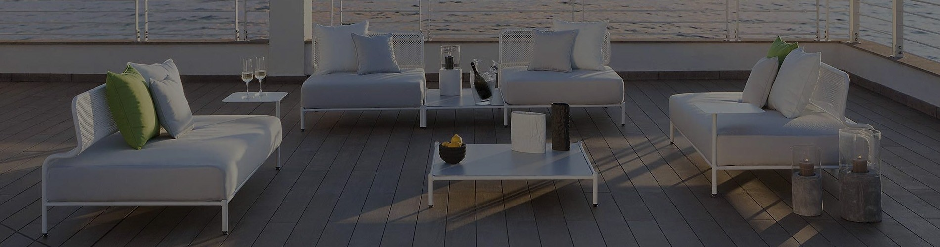 Italian Garden Patio Furniture | Sofa Tables Chairs Set | Rattan