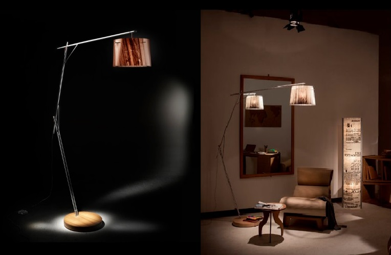 A floor lamp is always a good light option the floor lamps are a beautiful decor and also create warmth and ambience in any space